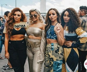 bebe rexha and little mix image