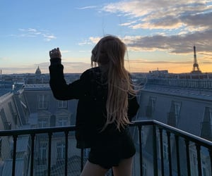 aesthetic, paris, and rose image