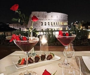 italy, drink, and rome image