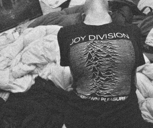 joy division and black and white image