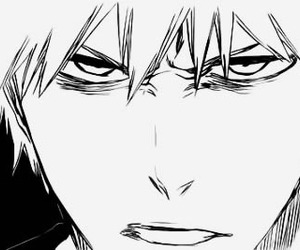 angry, bleach, and boy image