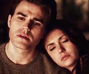 tvd, thevampirediaries, and stelena image