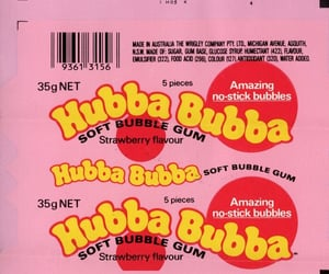 candy, gum, and packaging image
