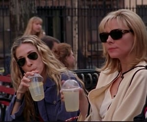 carrie, sex and the city, and fashion image