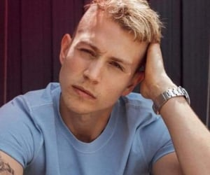 blond hair, boy, and celebrities image
