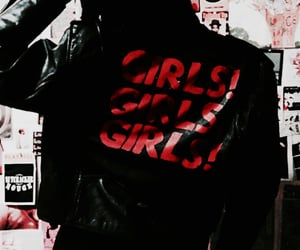 coat, girl, and theme image