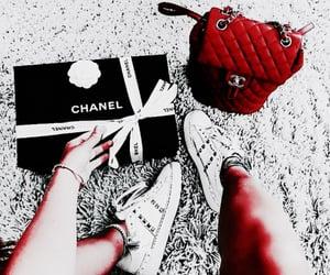 backpack, girl, and luxury image