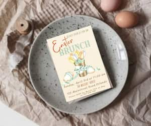 etsy, invitationtemplate, and easter lunch image