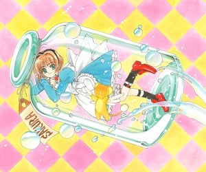 alice in wonderland, anime girl, and card captor sakura image