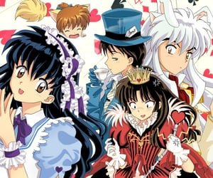 alice in wonderland, kagome, and anime image