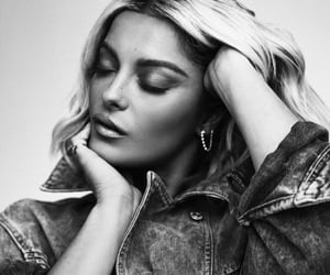 black and white, icon, and bebe rexha image