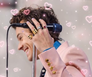 hearts, soft, and Harry Styles image