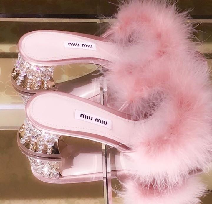 miu miu pink heels
