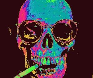 gif and gif skull image