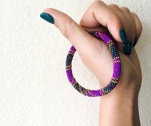 beauty, bracelets, and stylish image