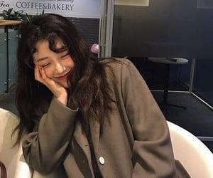 aesthetic, girl, and korea image