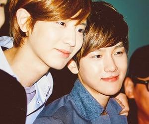 exo, baekhyun, and exo chanyeol image