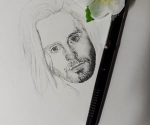 30 seconds to mars, jared leto, and art image