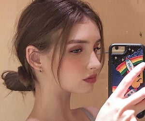 beige, phone case, and blonde image