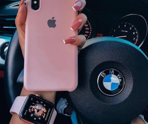 bmw, iphone, and nails image