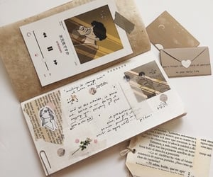 handwritten, letters, and journal image