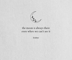 enough, Lyrics, and moon image
