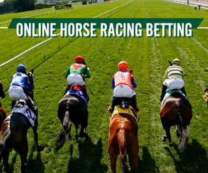 horse racing betting image