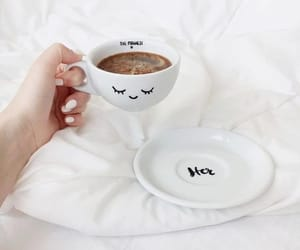 black, coffee, and cup image