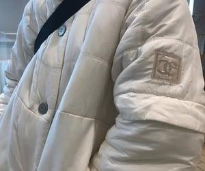 chanel, coat, and designer image