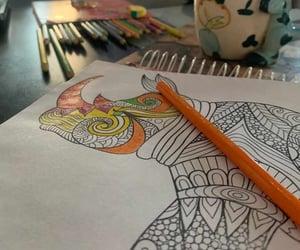 art, mandalas, and pintar image