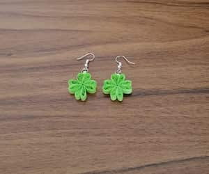 clover, etsy, and earrings image