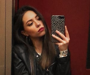 beauty, mirror, and selfie image