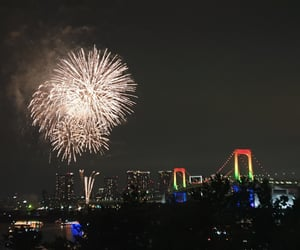 fireworks, new year, and japan image