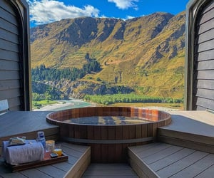 cozy, mountains, and new zealand image
