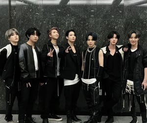 bts boys, bts comeback stage, and bts icons image