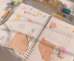 journal, student, and bullet journal image