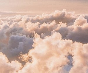aesthetic, headers, and clouds image