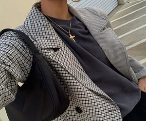 aesthetic, coat, and bag image