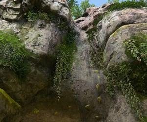 climbing, nature, and rock image