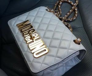 bag, Moschino, and fashion image