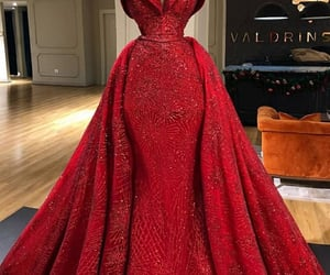 dress, glamour, and haute couture image