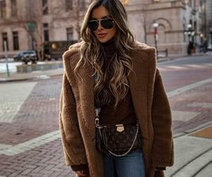 blogger, fashion, and camel coat image