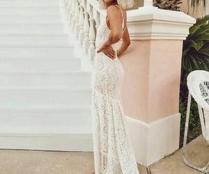 dress, white, and jordan and kemper image