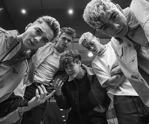black & white, corbyn besson, and jack avery image