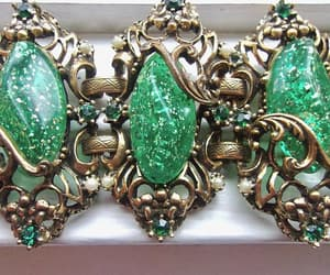 etsy, rhinestones, and emerald green image