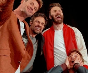 Avengers, chris evans, and comic con image