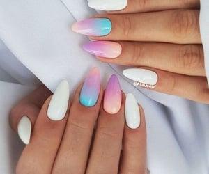 stiletto nail art image