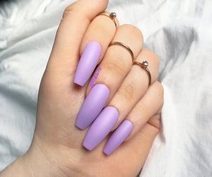 lavender coffin nails image