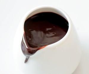 dark chocolate and ganache image