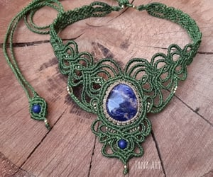 handmade, jewels, and necklace image